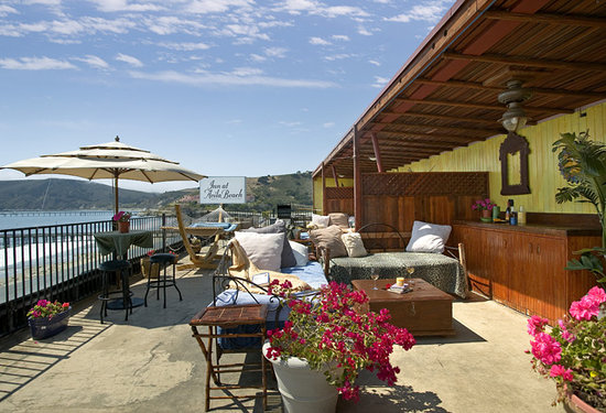 Inn at Avila Beach: Our jewel of the property; Our rooftop deck!