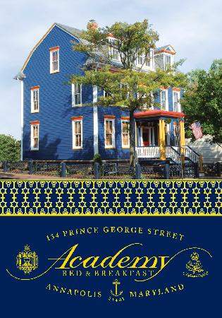 Academy Bed and Breakfast: The Academy B & B is centrally located in downtown Annapolis, providing luxurious accommodations