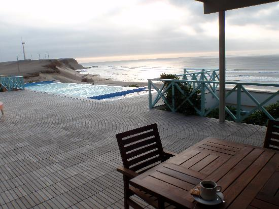 Chicama Surf Hotel & Spa: view from the main deck