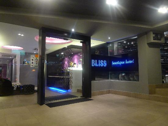 Bliss Boutique Hotel: Entrance