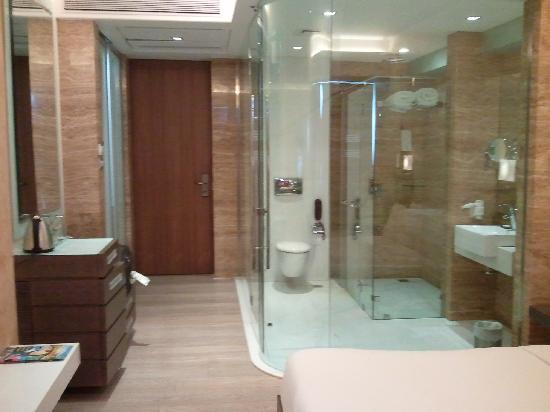 The Glass Bathroom That Leave Little To The Imagination