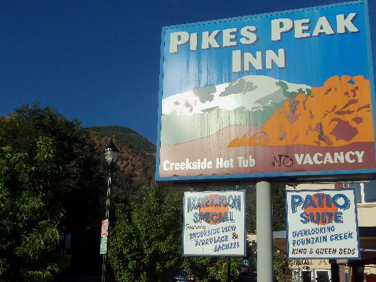 Pikes Peak Inn, Manitou Spring, CO