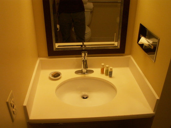 UMass Lowell Inn and Conference Center: Bathroom Sink