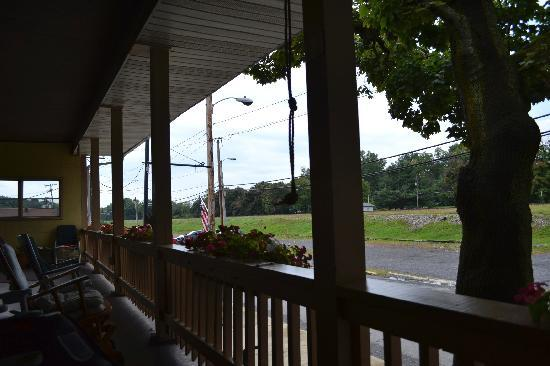 Cresson, PA: The view facing west towards the center of town