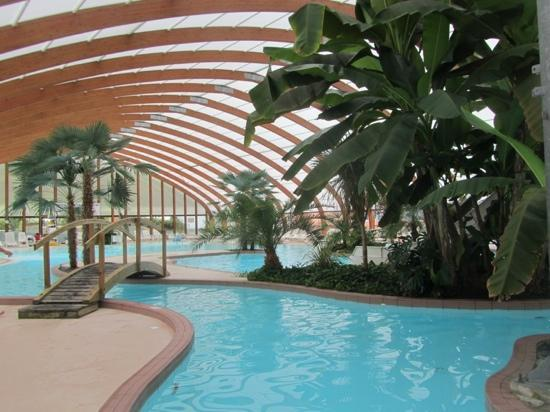 Indoor pool is great and has good slides picture of yelloh village port de plaisance clohars - Cool indoor pools with slides ...