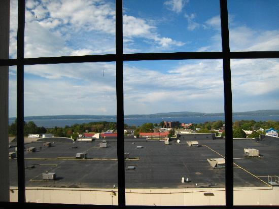 Hampton Inn &amp; Suites Petoskey: view from room