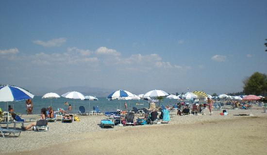 Gouvia Beach 250metres from Hotel