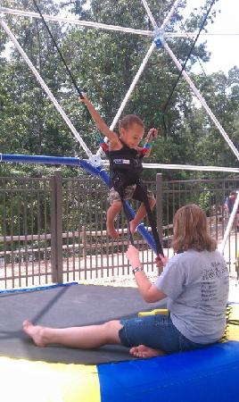 McGaheysville, VA: Bungi Jumping for the kids and its starts from ages 2 and up