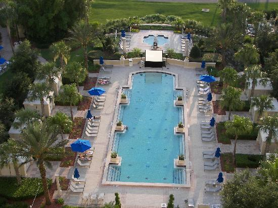 ‪‪Omni Orlando Resort at ChampionsGate‬: Another pool and hot tub view from our room.‬