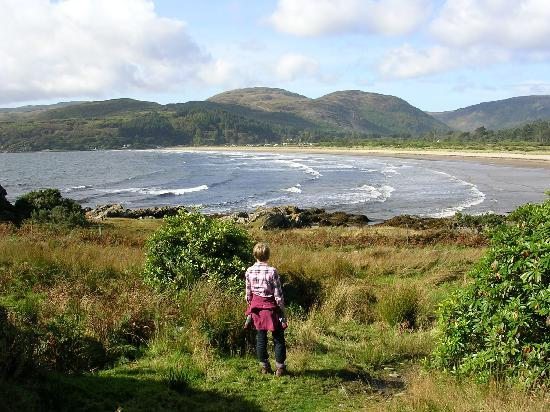 Dunvalanree: Carradale Bay - a mile of unspoiled sand