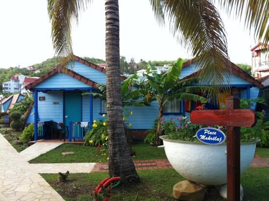Trois-Ilets, Martinique: bungalow