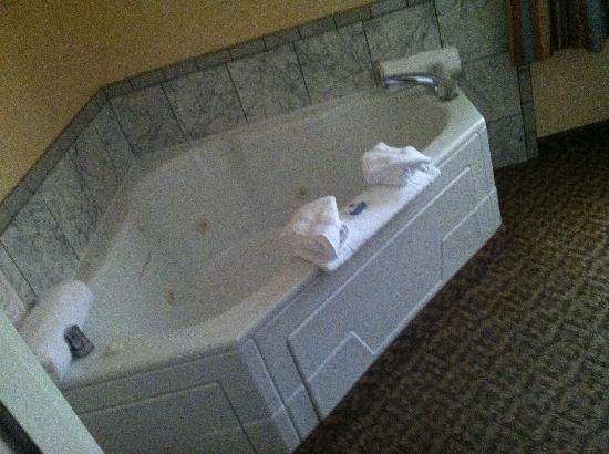 BEST WESTERN PLUS Cristata Inn: beautiful Jacuzzi