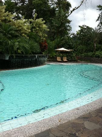 Tabacon Grand Spa Thermal Resort: Main pool by the breakfast area