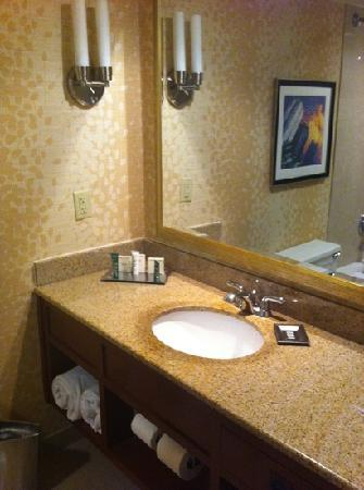 Hilton Birmingham Perimeter Park: bathroom was clean and modern