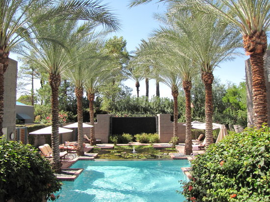 Spa pool meditation for Az pond and pool