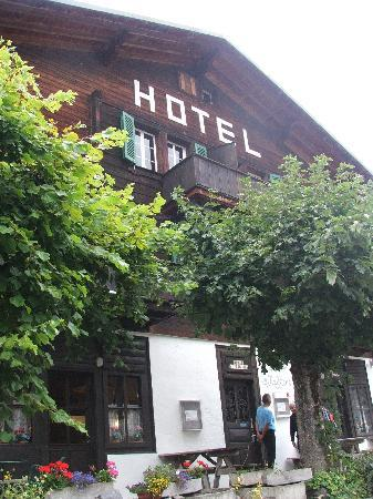Gimmelwald, Suiza: The hotel