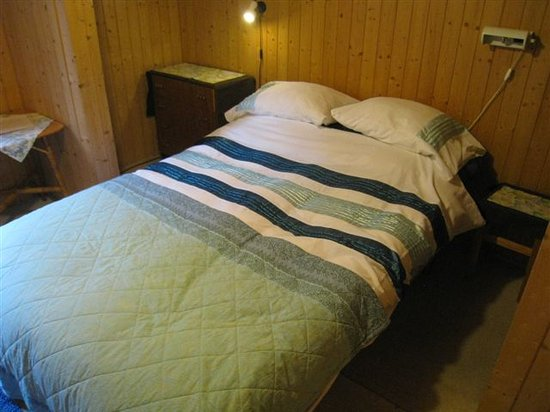 Chalet Fontana: Room #1, in the back... but has a secret bed!