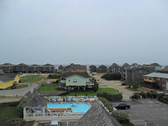 Hatteras Island Inn: looking east