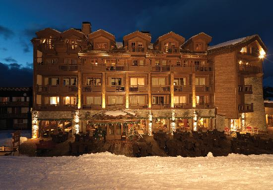 Courchevel, Prancis: Le Portetta Hotel