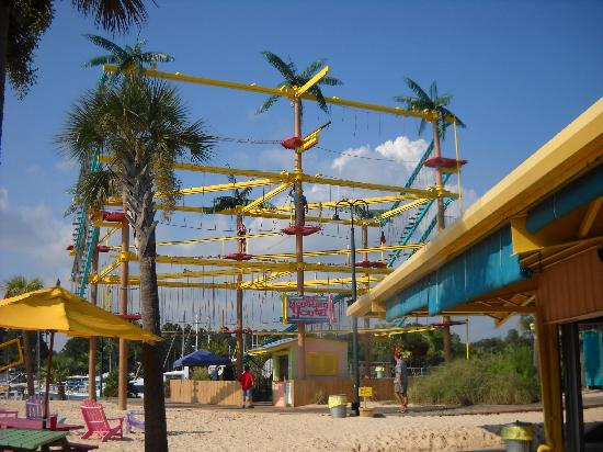 Mountain Of Youth Adult Rope Climbing Activity Picture Of Lulu S Gulf Shores Tripadvisor
