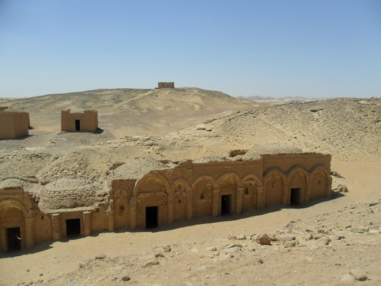 Kharga, Egipt: Tombs at Al-Bagawat