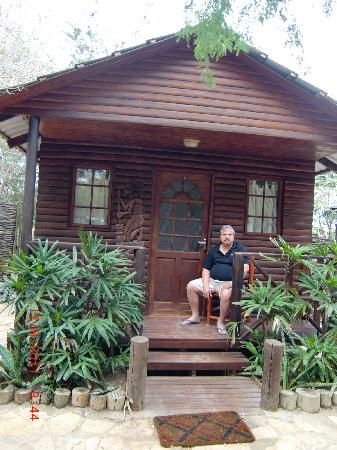 Carpe Diem: Wooden Cabins are Comfy and airconditioned