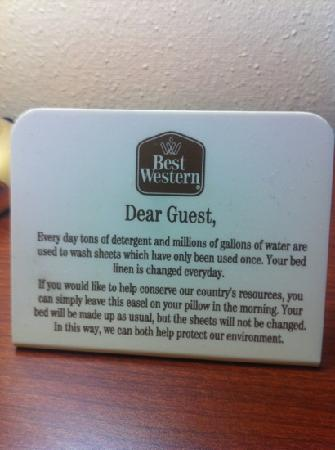 City Center Inn: they're not even a Best Western!