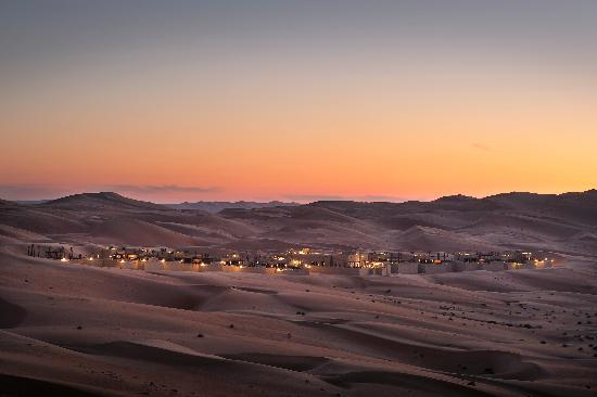 Qasr Al Sarab Desert Resort by Anantara - Sunset View