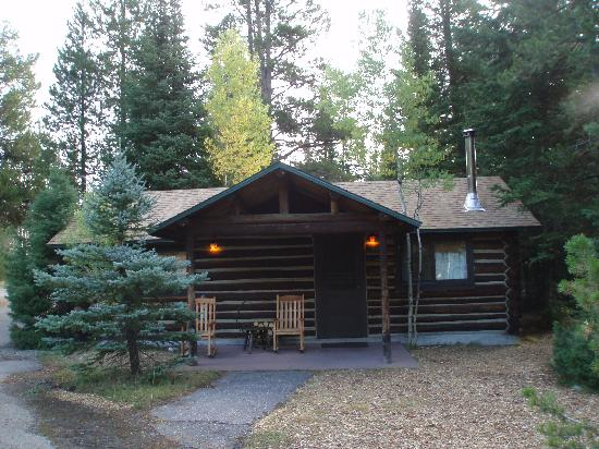 Moose shaped butter picture of jenny lake lodge grand for Teton cabin rentals