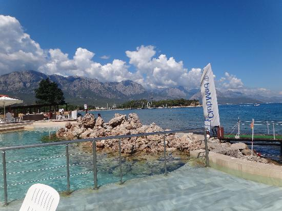 Club Med Kemer: piscine d&#39;eau de mer