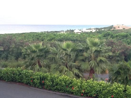 Arawak Bay: the Inn at Salt River: View from balcony in front of our room.