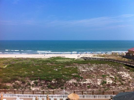 View From Room 421 Picture Of Hilton Garden Inn South Padre Island South Padre Island