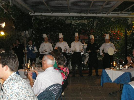 BEST WESTERN Hotel La Solara: Gala dinner