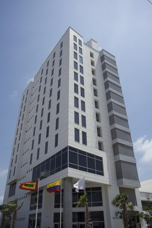 Sonesta Hotel Barranquilla: Fachada