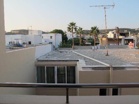 Hotel Atlantida Mare: Dal balcone...