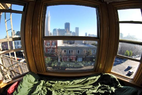 ‪‪Green Tortoise Hostel - San Francisco‬: Best view‬