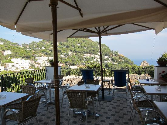 Hotel La Tosca: The Terrace & the new furniture