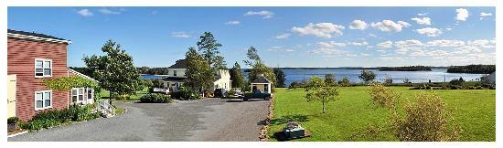 Mahone Bay, Canada: Panorama view over the Bay