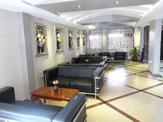 Fairway Hotel: Reception lounge