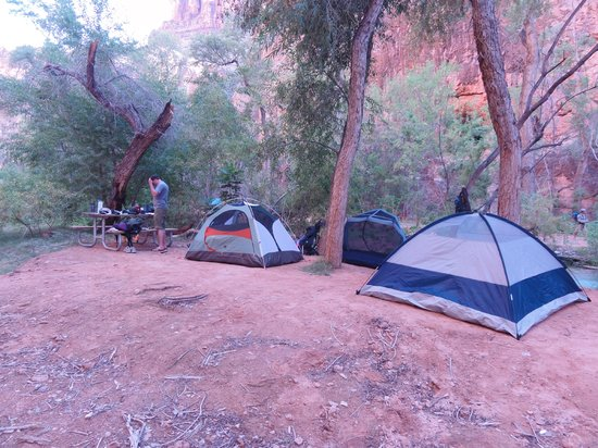 Photo of Havasu Falls Campground Supai