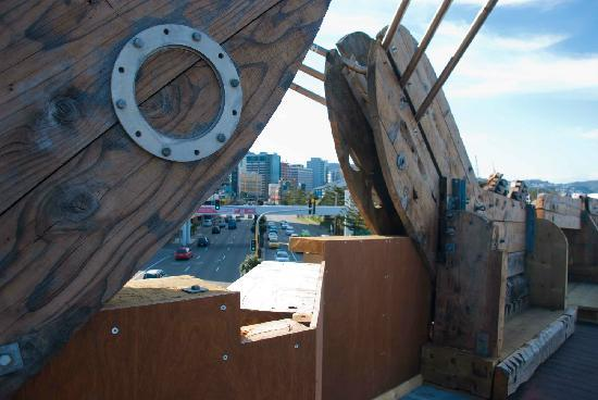 City to Sea Bridge: Most unusual building materials