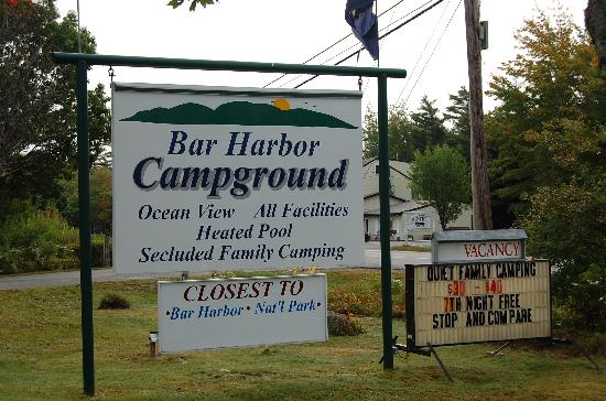 ‪Bar Harbor Campground‬