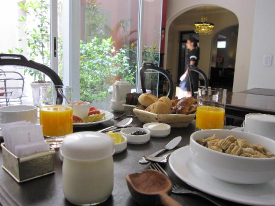 Magnolia Hotel Boutique: Delicious Breakfast