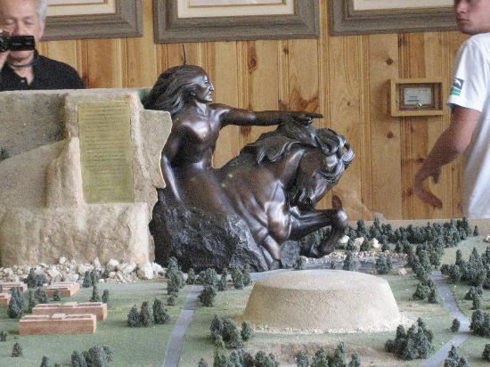 Finished Plan Model Picture Of Crazy Horse Memorial
