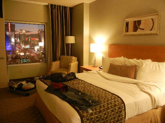 strip view suite king size bedroom picture of platinum hotel and