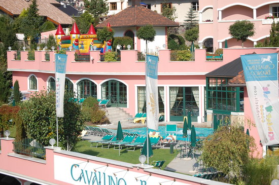 Cavallino Bianco Family Spa Grand Hotel: struttura