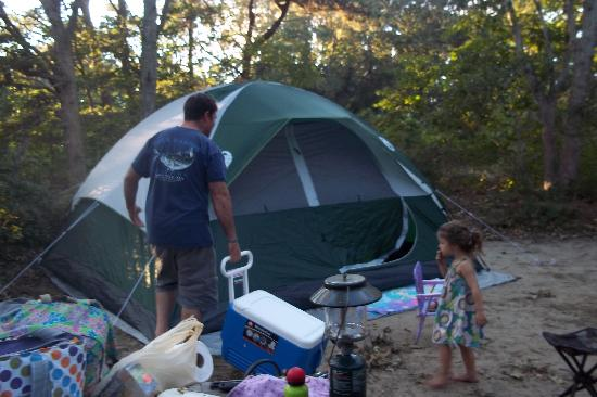 Sweetwater Forest Campground : Our Campsite