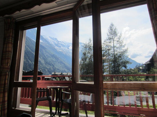 La Sapiniere: The View from our room