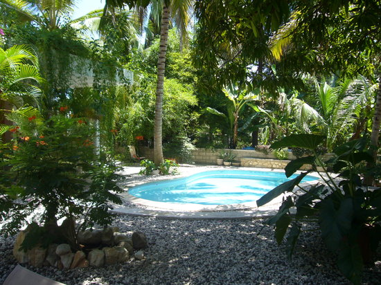 The garden lodge guest house haiti port au prince for Garden pool haiti