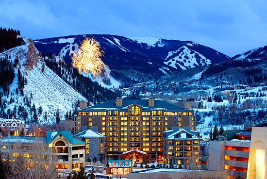Westin Riverfront Resort &amp; Spa: Beaver Creek Mountain Fireworks from The Westin